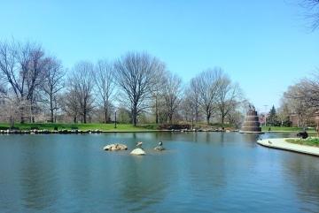 I love Goodale Park in the Spring!